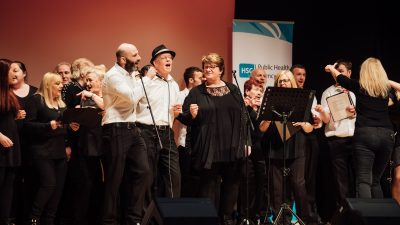 HSC Conference March 2019   Choir 3