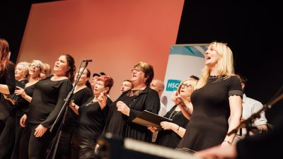 HSC Conference March 2019   Choir