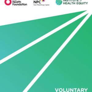 Institute of Health Equity   Voluntary Sector Action On The Social Determinants Of Health