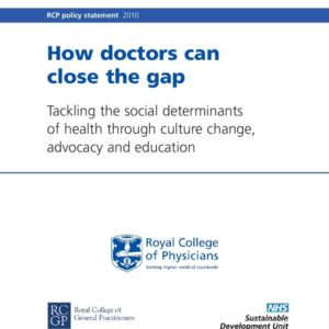 RCP   How Doctors Can Close the Gap