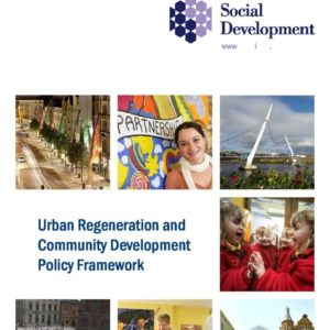 Urban Regeneration & CD Policy Framework