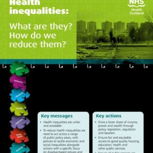 Health Inequalities   what are they, how do we reduce them Mar 16