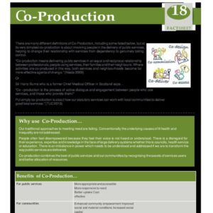 Co Production Fact Sheet