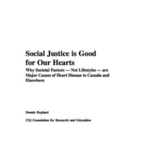Social Justice is Good for our Hearts