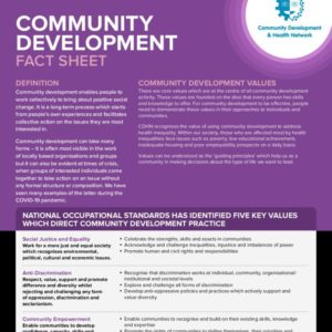 Community Development Fact Sheet
