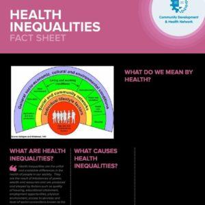 Health Inequalities Fact Sheet FINAL