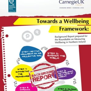 Towards a Wellbeing Framework