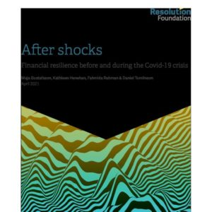After Shocks   financial resilence before and after covid