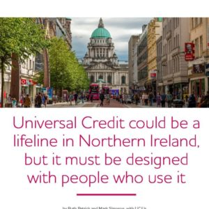 UniversalCcredit could be a lifeline in Northern Ireland report